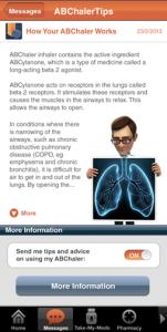 The Medadvisor app 6