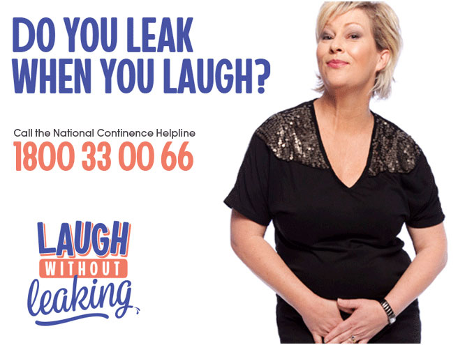 Incontinence laughing and leaking